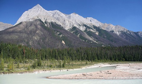 Little goes large: trekking the Canadian Rockies with Marie Curie
