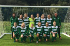 West allotment girls team