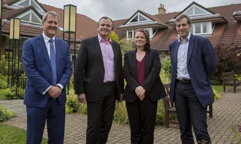 Ian Little joins Marie Curie Hospice Board
