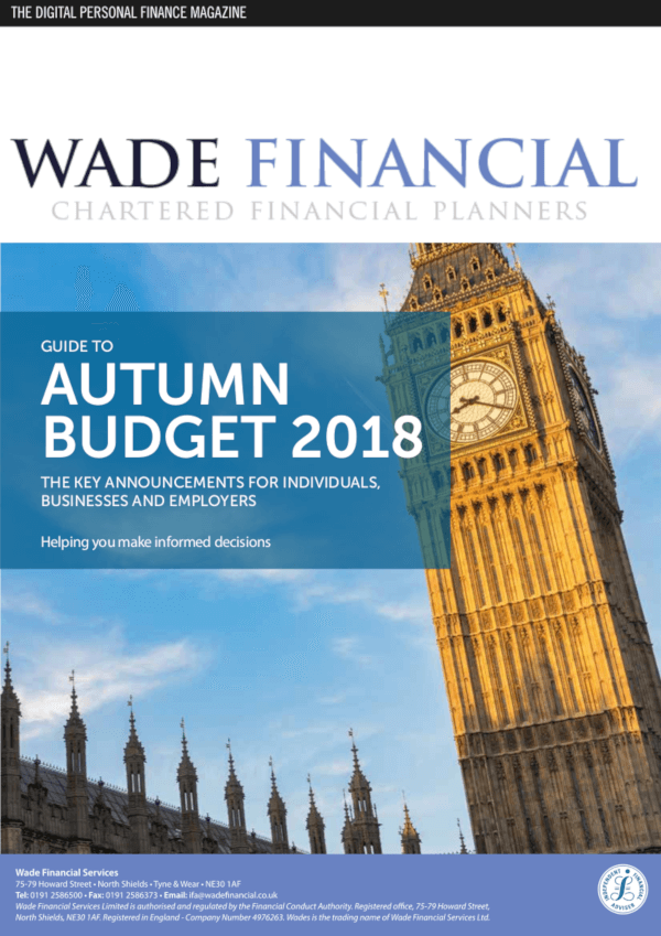 The Autumn Budget