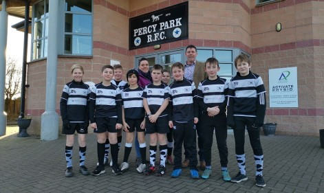 Crossing the whitewash with Percy Park RFC